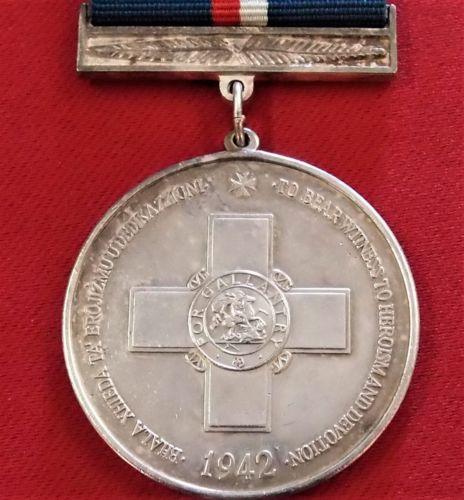 55+ Maltese Flag George Cross