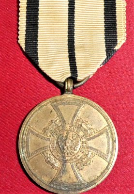 PRE WW1 KINGDOM OF PRUSSIA GERMANY 1848 REVOLUTION SUPRESSION MEDAL