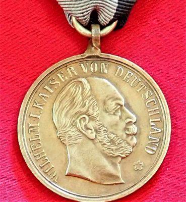 Rare WW1 Germany Norderney (Frisian Islands) War Service League medal