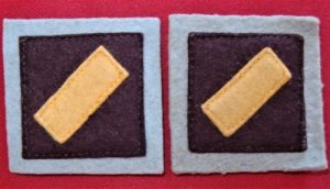 WW2 AUSTRALIAN ARMY UNIFORM COLOUR PATCHES 2nd 11th GENERAL HOSPITAL A.G.H.