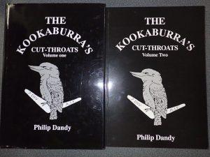 BOOKS AUSTRALIAN UNIT HISTORY THE KOOKABURRAS CUT THROATS 7TH DIV AIF VOL 1 & 2 PHILIP DANDY