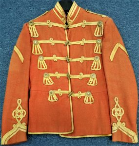 PRE WW1 ERA GERMAN ARMY HUSSARS 'MUSICIANS' TUNIC UNIFORM JACKET