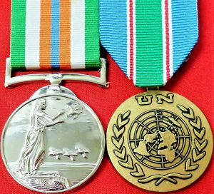 REPUBLIC OF IRELAND UNITED NATIONS PEACE KEEPERS SERVICE MEDAL