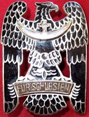 VINTAGE IMMEDIATE POST WW1 GERMAN SILESIAN EAGLE ORDER 1ST CLASS MEDAL BADGE