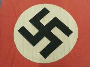WW2 ERA NAZI GERMANY PARTY FLAG BANNER 225CM X 110CM