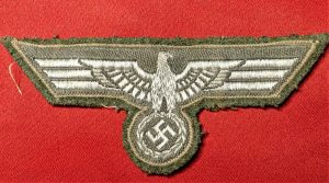 WW2 GERMAN ARMY NCO'S OFFICER'S UNIFORM TUNIC BREAST EAGLE & SWASTIKA