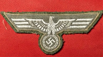 WW2 GERMAN ARMY NCO'S OFFICER'S UNIFORM TUNIC BREAST EAGLE & SWASTIKA