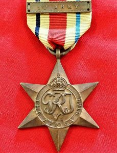 WW2 THE AFRICA STAR 1ST ARMY AUSTRALIA BRITISH WAR MEDAL 100% ORIGINAL ANZAC