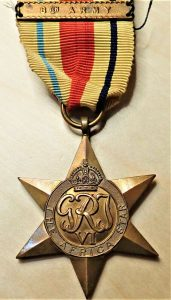 WW2 THE AFRICA STAR 8TH ARMY AUSTRALIA BRITISH WAR MEDAL 100% ORIGINAL ANZAC