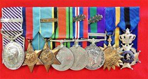 WW2 ROYAL AIR FORCE MEDAL GROUP MIX ORIGINAL & REPLICA RAF USA & BELGIUM