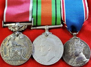 WW2 BRITISH EMPIRE MEDAL GROUP TO HEADLEY CLARK ADMIRALTY HYDROGRAPHIC DEPT