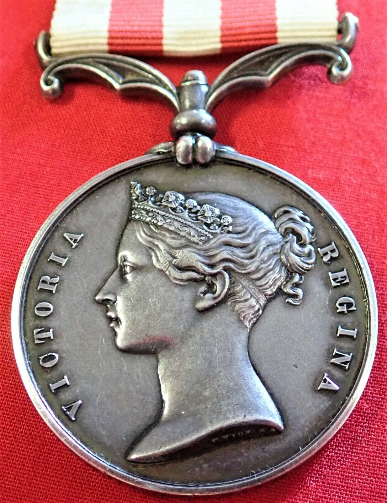 BRITISH ARMY INDIAN MUTINY MEDAL TO LIEUTENANT HENDERSON BENGAL ENGINEERS