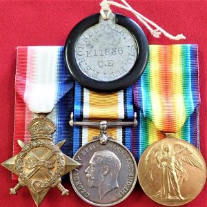 DIED DISEASE WW1 BRITISH NAVY ROYAL NAVY MEDAL GROUP LEADING STOKER HORNBLOWER