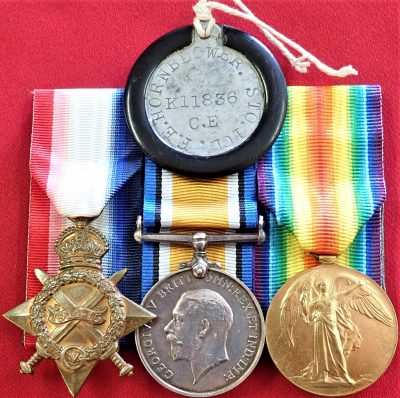 DIED DISEASE WW1 BRITISH NAVY ROYAL NAVY MEDAL GROUP LEADING STOKER HORNBLOWER