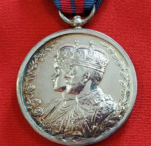 NEAR MINT RARE PRE WW1 BRITISH DELHI DURBAR MEDAL 1911 KING GEORGE V