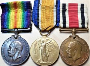 WW1 BRITISH ARMY MEDALS ROYAL ARTILLERY & SPECIAL CONSTABULARY