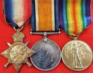 WW1 BRITISH AUSTRALIAN ARMY MEDAL TRIO LT PEARSON RFC EAT KENT YEOMANRY 44TH BN