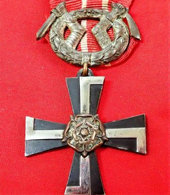 WW1 Finland Republic, Order of the Cross of Liberty 1st type, Military Division