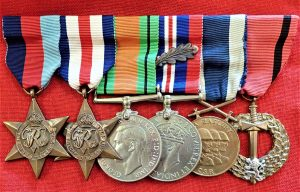 WW2 Czechoslovakian 'Army in exile' medal group with Mention in Dispatches