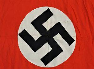 WW2 GERMAN NAZI PARTY N.S.D.A.P. COTTON FLAG