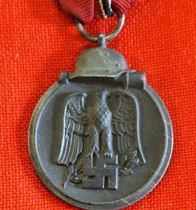 WW2 GERMAN NAZI WINTER RUSSIAN EASTERN FRONT SERVICE MEDAL