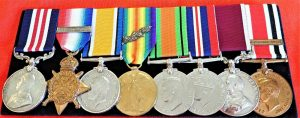 WW1 & 2 BRITISH ARMY 1914 STAR MILITARY MEDAL GROUP CPL GIFKINS ROYAL ENGINEERS