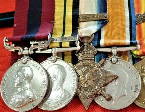 WW1 & WW2 DISTINGUISHED CONDUCT MEDAL MID SOMALIALAND GROUP CAPTAIN LUMBARD A.S.C. & MARITIME REGIMENT ROYAL ARTILLERY