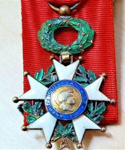 WW1 WW2 FRENCH LEGION OF HONOUR MEDAL KNIGHT GRADE 3RD REPUBLIC