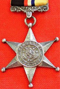 RARE BOER WAR KIMBERLEY STAR MEDAL OR KIMBERLEY MAYORS SIEGE MEDAL