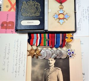 WW2 ARMY ORDER BRITISH EMPIRE MEDAL GROUP BRIGADIER LAWRENCE GEORGE ROBERTSON ROYAL ENGINEERS