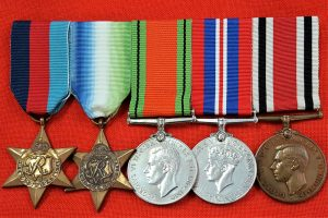 WW2 BRITISH NAVY ATLANTIC STAR CAMPAIGN MEDAL GROUP POLICE SPECIAL CONSTABULARY