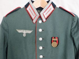 PRE WW2 GERMAN ARTILLERY WAFFENROCK PARADE DRESS UNIFORM JACKET TUNIC 18TH ARTILLERY REGIMENT