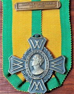 WW2 DUTCH NETHERLANDS COMMEMORATIVE WAR CROSS SOUTH PACIFIC 1942-45 MEDAL
