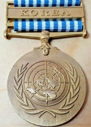 WW2 DUTCH NETHERLANDS UNITED NATIONS MEDAL FOR KOREAN WAR
