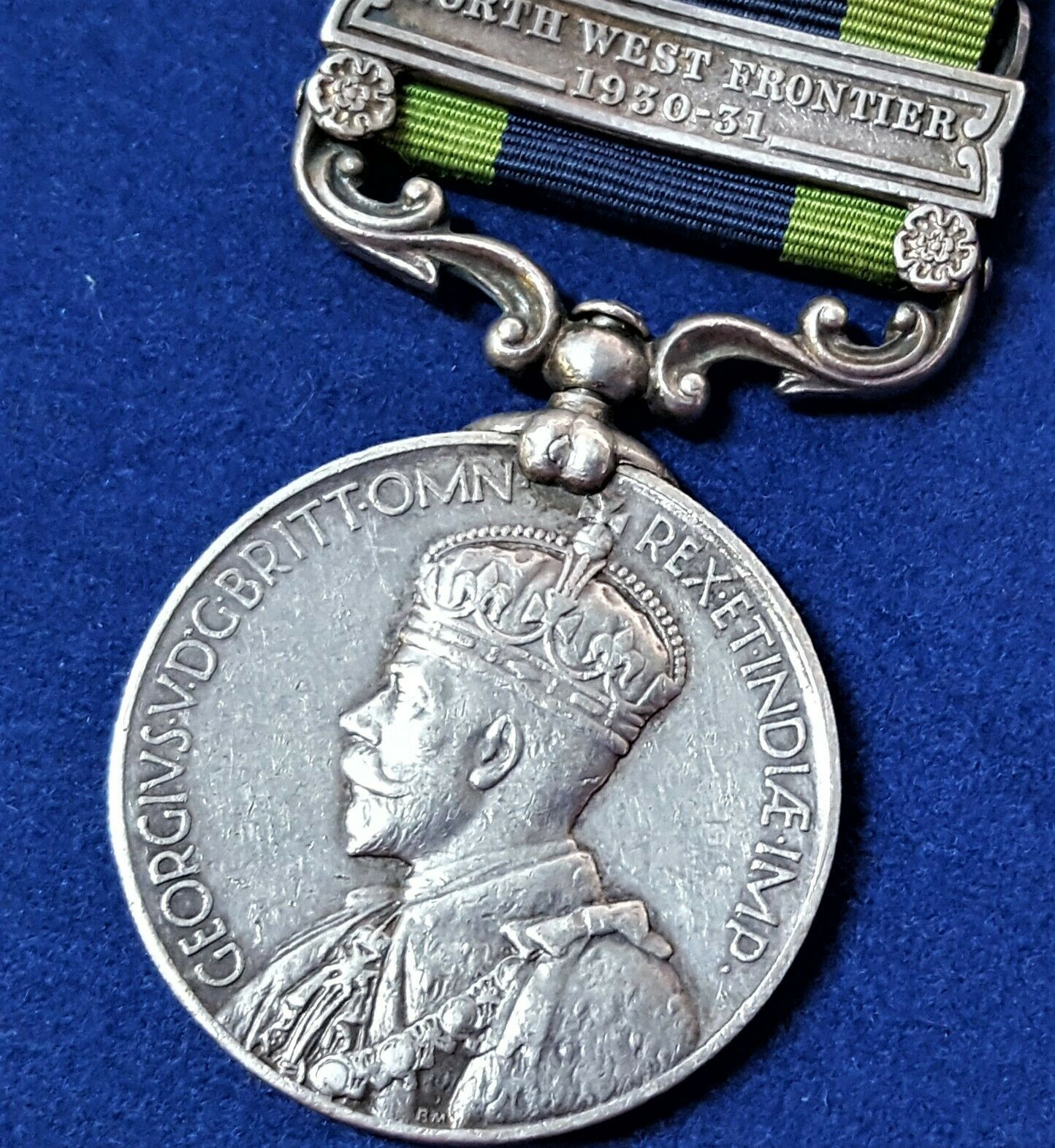 N.W. FRONTIER BRITISH INDIA GENERAL SERVICE MEDAL WW2, 6TH BATTALION, 13th FRONTIER FORCE RIFLES