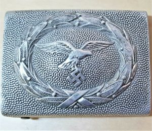 WW2 GERMAN LUFTWAFFE BELT & BUCKLE BY FRANZ REISCHAUER