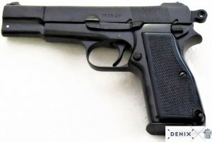 DENIX BROWNING HP - GP35 BELGIUM 1935 REPLICA PISTOL