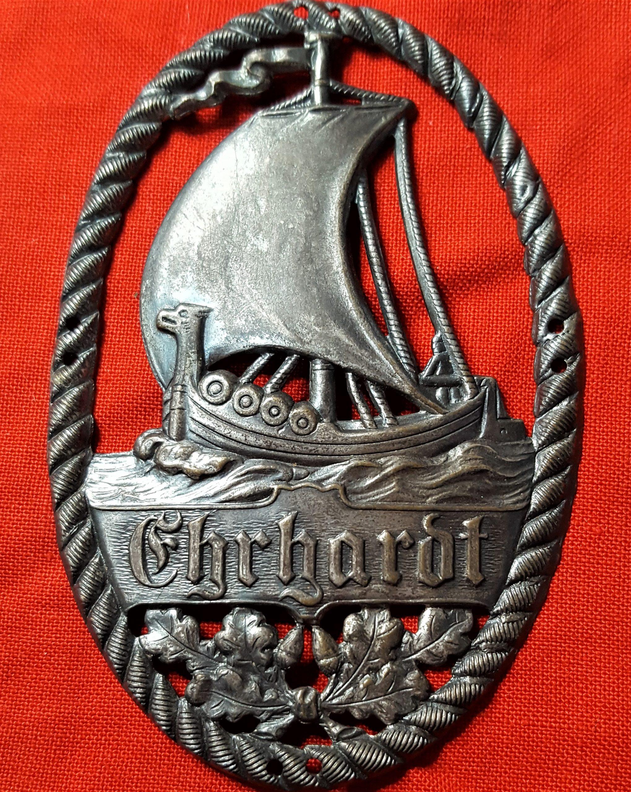 Immediate post WW1 era German Freikorps 'Ehardt Brigade' members uniform sleeve badge