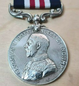WW1 1918 BATTLE FOR AMIENS MILITARY MEDAL TO DRIVER H.RADLEY 18TH BDE R.F.A.