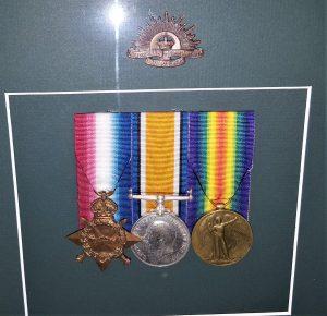 WW1 AUSTRALIAN GALLIPOLI 1ST DAY LANDER MEDAL GROUP 1549 PTE T FIMISTER 1ST & 2ND BN A.I.F. ANZAC