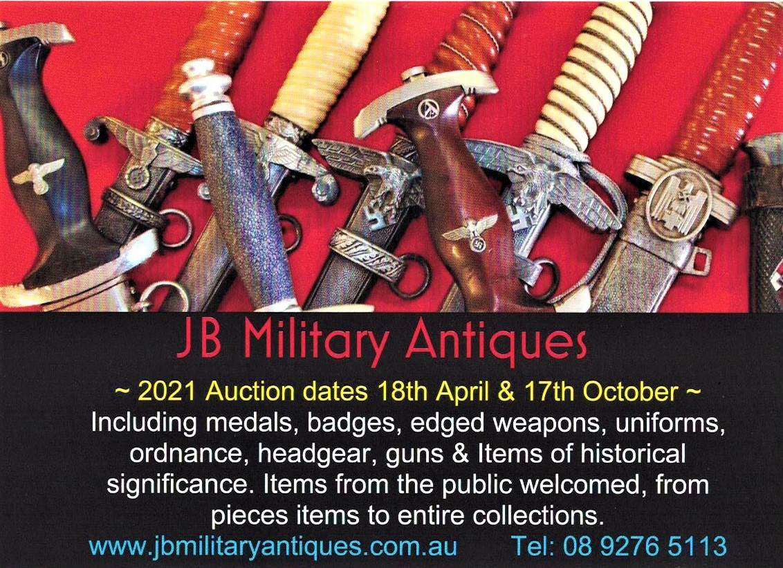 JB Military Antiques Auctions 2021