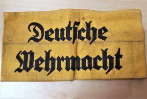 WW2 GERMAN DEUTSCHE WEHRMACHT UNIFORM ARMBAND