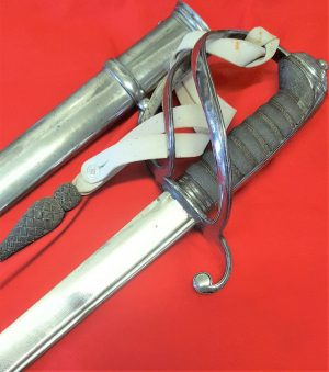 BRITISH WILLIAM IV 1821 PATTERN LIGHT CAVALRY OFFICER'S SWORD BY ODELL & ATHERLY
