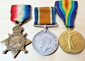 WW1 BRITISH ARMY MEDAL GROUP SAPPER ALABASTER 10TH RAILWAY COMPANY ROYAL ENGINEERS