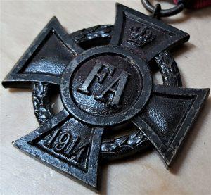 WW1 GERMANY FRIEDRICH AUGUST CROSS 2ND CLASS CAMPAIGN SERVICE MEDAL