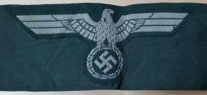 WW2 GERMAN ENLISTED NCO'S OVERSEAS M43 UNIFORM CAP EAGLE