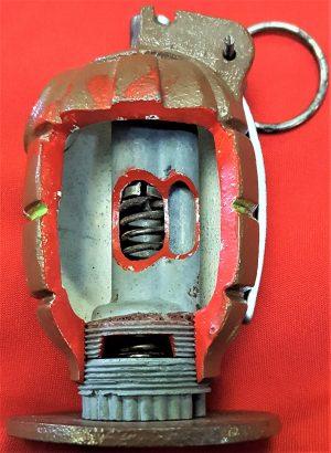 WW2 sectioned Australian mills grenade No36 Mk1 41 by R.B. Davies
