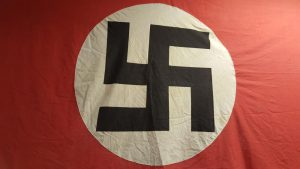 WW2 German Nazi party banner huge parade flag, 3.6m x 1.47m