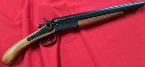 DENIX REPLICA DOUBLE BARREL SAWNOFF SHOTGUN 1881 COUCH GUN
