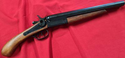 DENIX REPLICA DOUBLE BARREL SAWNOFF SHOTGUN 1881 COUCH GUN